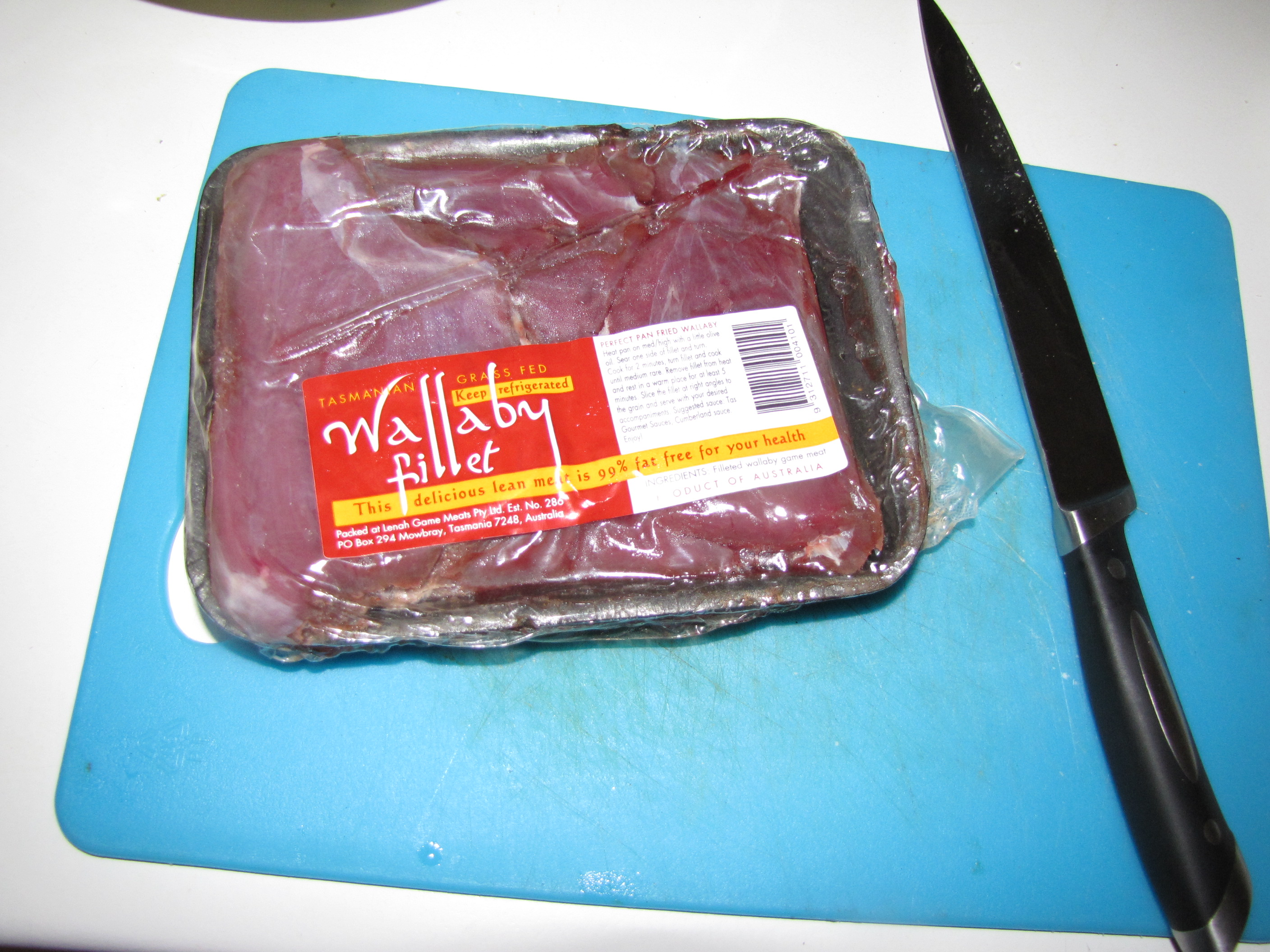 how to cook wallaby meat