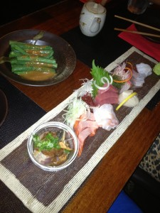 Chef's selection sashimi