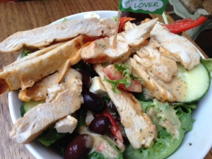 Lemon & Herb Mediterranean chicken salad