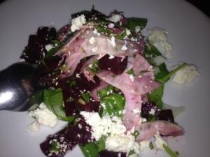 Beetroot, fennel & feta salad