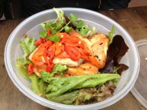 Tasmanian salmon lunch bowl