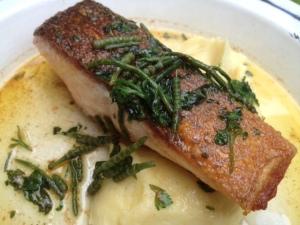 Salmon & mash