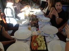 The feast table