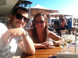 celebratory vino