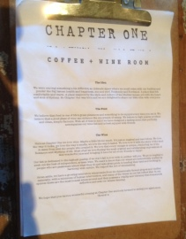Chapter One the story